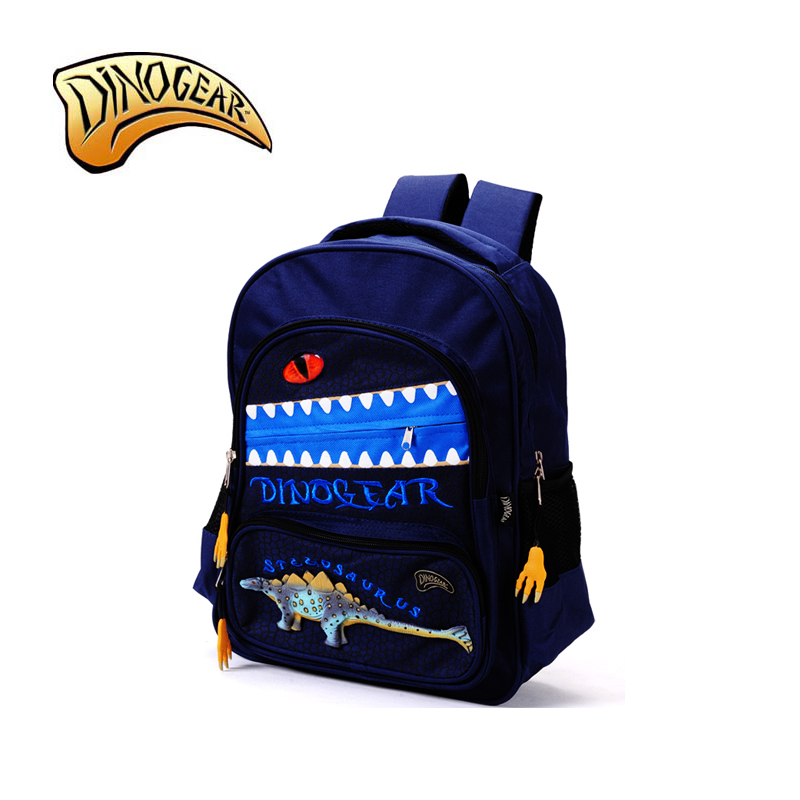 STEGOSAURUS 3D SCHOOL BAG