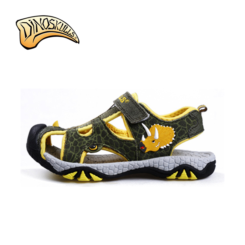 TRICERATOPS HEAD 2D SANDAL